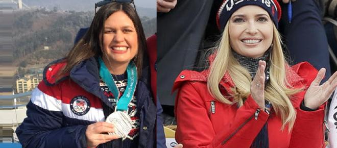 Ivanka Trump, Sarah Sanders destroyed for tweets about Team USA, Winter Olympics