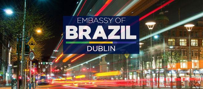 Embaixada do Brasil em Dublin tem vaga com salário superior a R$ 8.700,00
