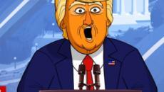 Stephen Colbert's 'Our Cartoon President' hilariously mocks Trump's CPAC speech