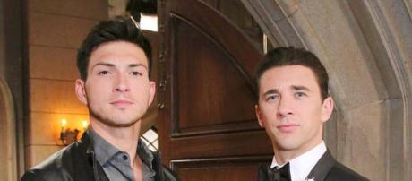 'Days of our Lives' stars Robert Scott Wilson and Billy Flynn. (Image via Instagram/Robert Scott Wilson)