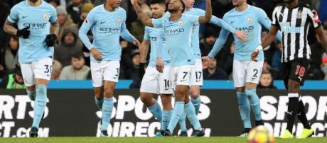 Manchester City celebra su victoria