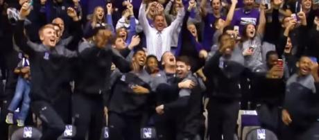 Northwestern Basketball. - [Big Ten Network / YouTube screencap]