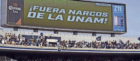 Periódico am | Repudian narcoviolencia en partido de Pumas - com.mx