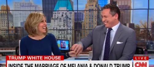 CNN on Trump marriage, via YouTube