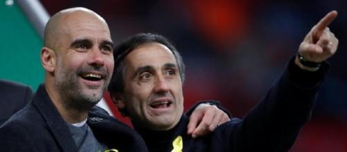 El entrenador del Manchester City, Pep Guardiola