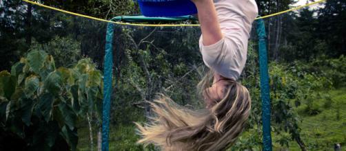 En el trampolín aprendí mucho más que a hacer piruetas. Foto David Jaramillo K