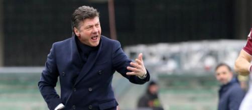 In foto il tecnico del Torino Walter Mazzarri