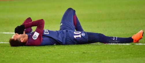 Neymar, blessé lors du Clasico