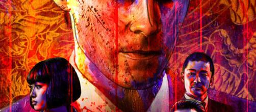 Póster de The Outsider de Netflix que se estrenará el próximo 9 de marzo