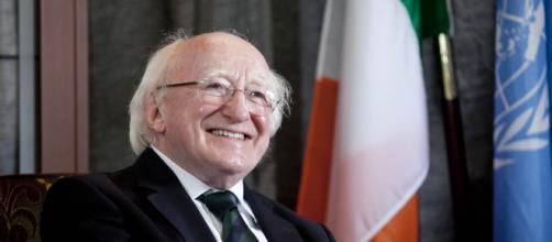 President Higgins - Source - Wikimedia Commons