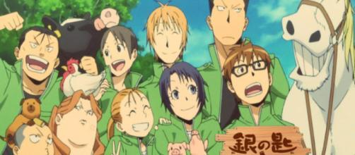 Primera temporada de Silver Spoon the anime