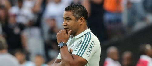 Roger pede foco na Libertadores e admite 'ajustes' no Palmeiras (foto reprodução).
