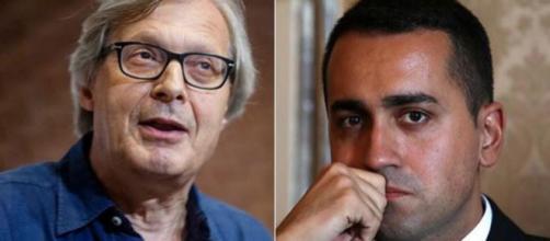 Sgarbi scatena la sua ira contro Di Maio dopo l'annuncio del Generale Sergio Costa come possibile Ministro dell'Ambiente - lineapress.it