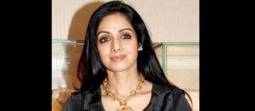 Sridevi: Image via IndiaFM/Bollywoodhungama.com/Wikimedia Commons