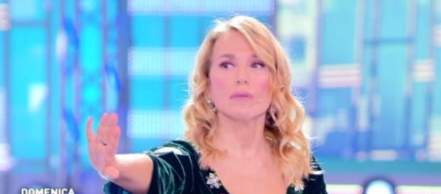 Barbara D'Urso sotto shock per l'audio