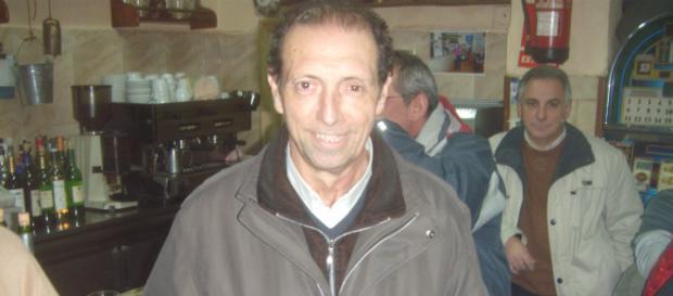 Enrique Castro Quini, durante un acto solidario