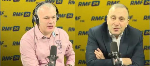 Grzegorz Schetyna u Roberta Mazurka (youtube.com)
