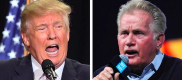 Martin Sheen vs Donald Trump: Requiem