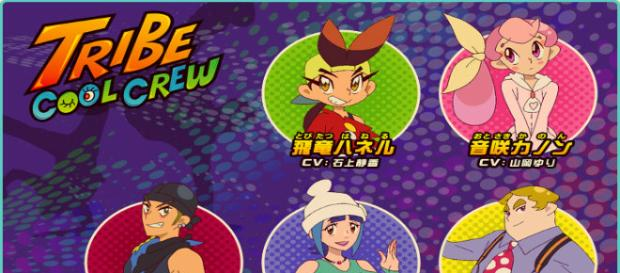 Mira Tribe Cool Crew the anime