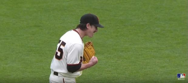 Tim Lincecum looking for a comeback - image - MLB/Youtube
