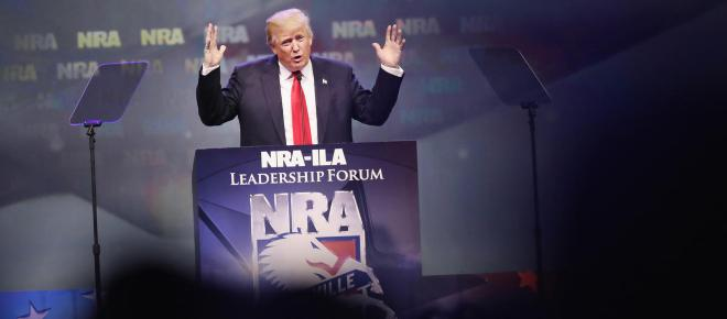 Donald Trump contends with the NRA on post-Florida shooting law changes