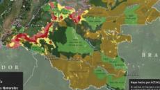 Colombia: imágenes satelitales alertan de áreas deforestadas críticas en 15 años