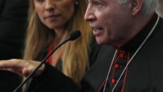 La alcaldesa de Roma se reúne con el cardenal Carlos Aguiar