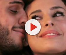 Bacio tra Sara Affi Fella e Luigi Mastroianni.