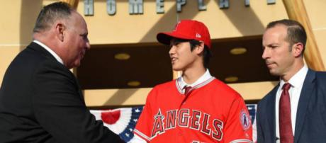 Shohei Ohtani will look to make an immediate impact for the Angels Organization (Image via REUTERS/Youtube)