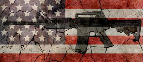Adding a few common sense laws about gun is the right step in making America great. - [Imgae via akrockefeller / Flickr]