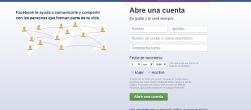 Facebook iniciar sesion abre cuenta