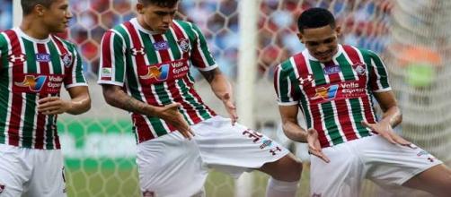 Fluminense teve 100% de aproveitamento em fevereiro (Foto: Reprodução/Net Flu)