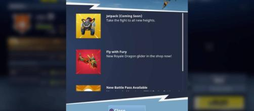 Fortnite Jetpack update (Image Credit: Cizzorz/YouTube)