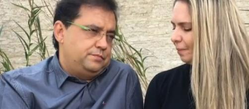Geraldo agradece viúva de Marcelo Rezende