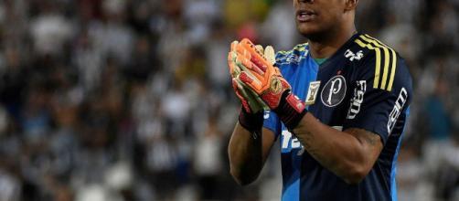 Jaílson, goleiro do Palmeiras,