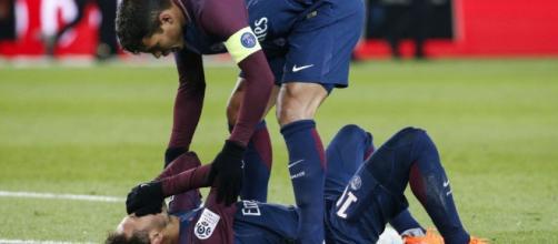 lesion de neymar podria perder el clasico
