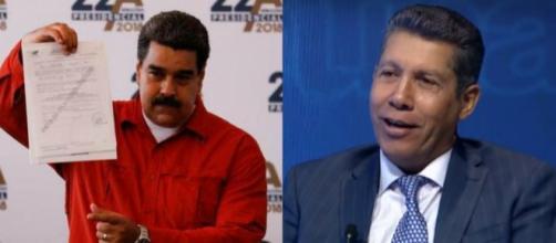 Nicolás Maduro y Henri Falcón formalizan ante (CNE) su candidatura a la elección para los comicios del 22 de abril