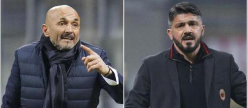 Spalletti-Gattuso: combo immagine