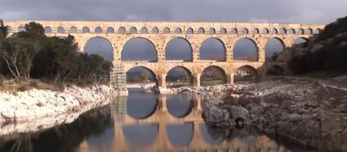 YouTube screen capture from denniscallan's video titled Nimes France