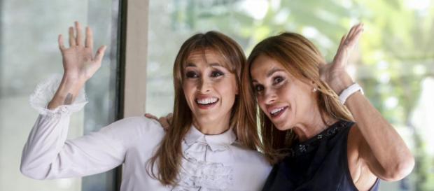 Benedetta Parodi ha condotto Domenica In con la sorella Cristina
