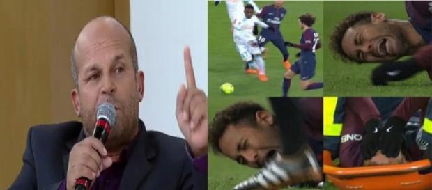 Carlinhos vidente previu o acidente com Neymar.