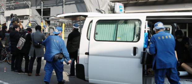 Escena de el asesinato en Kansai