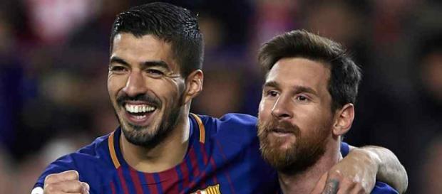 Leo Messi e Suárez são melhores amigos no Barça. (Foto Reprodução).