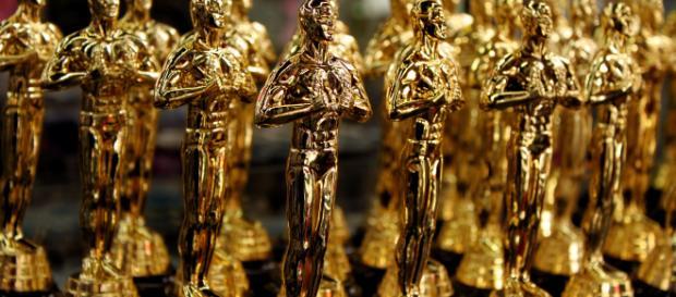 Replicas of the Oscar statues / photo source: Prayltno via flickr cc2.0