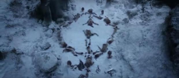 The Night King's symbol / Image via Best Scenes of All SITCOMS, YouTube screencap