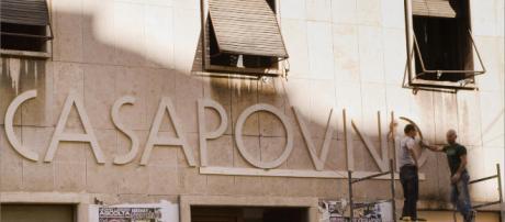 La sede romana di casapound occupata illegalmente