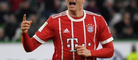 Lewandowski ha estado muy vinculado con el Real Madrid