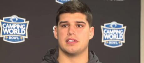 Mason Rudolph played four years at Oklahoma State (Image Credit: Oklahoma State Athletics/YouTube)