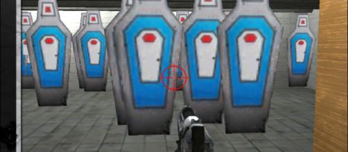"""All'interno del poligono di tiro ricreato da """"NRA: Practice Range"""""""