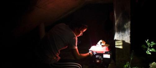 Many Puerto Rican residents: (Image via: Carlos Giustli/Associated Press)